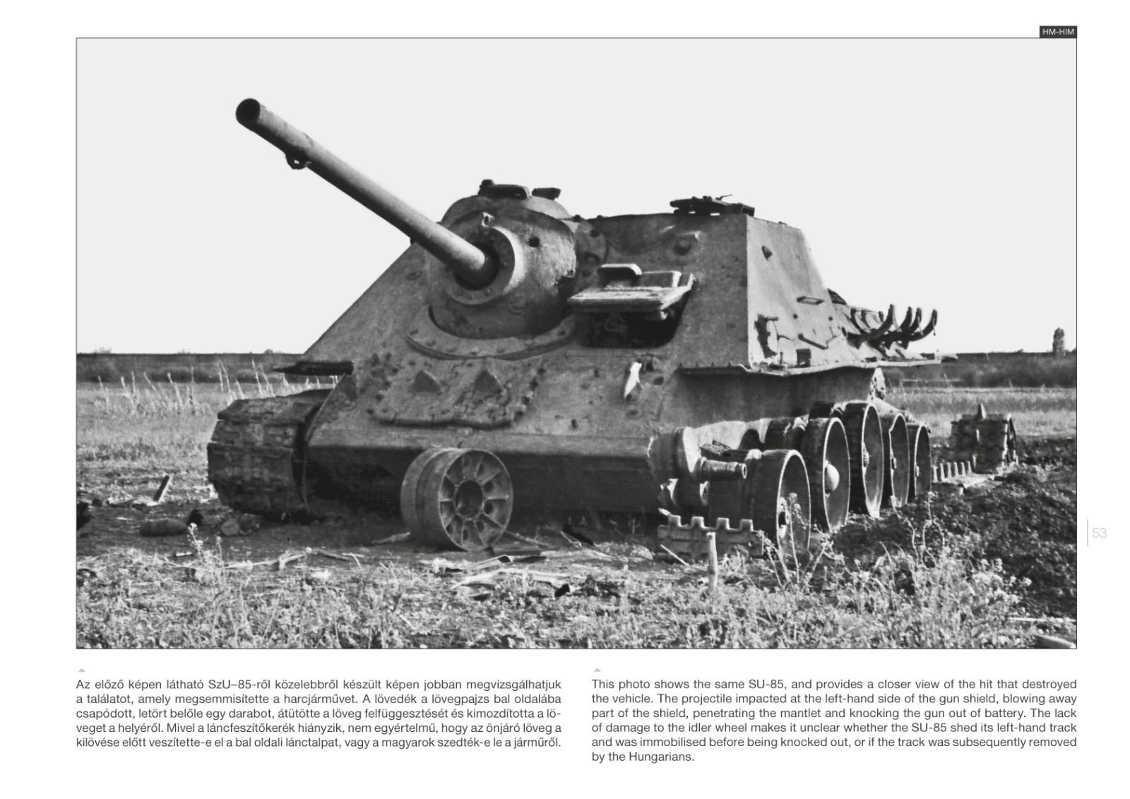 Self Propelled Cart >> SU-85 and SU-100 on the battlefield | PeKo Publishing