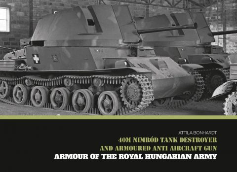 40M Nimród tank destroyer and armoured anti aircraft gun